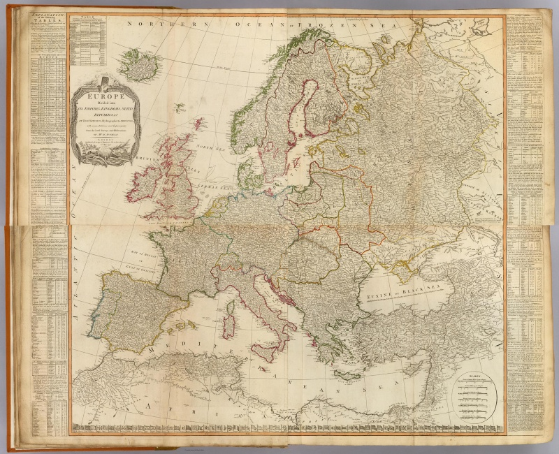 Europe divided into its Empires and Kingdoms (J.B. Bourguignon de Anville 1795).jpg
